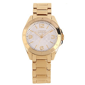Coach Tristen ladies' gold-plated bracelet watch - Product number 1412728