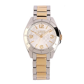 Coach Tristen ladies' two colour bracelet watch - Product number 1412744