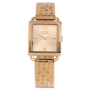 Coach Legacy Sport ladies' gold-plated bracelet watch - Product number 1412884