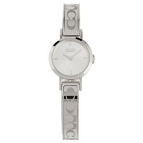 Coach Signature Studio ladies' steel bracelet watch - Product number 1413244