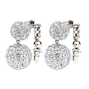 Folli Follie Bling Chic silver-plated crystal earrings - Product number 1413511