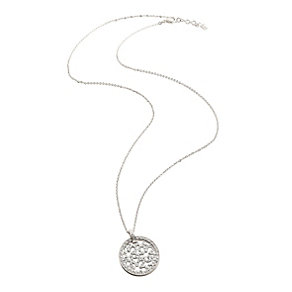 Folli Follie Fiorissimo silver-plated crystal necklace - Product number 1413643