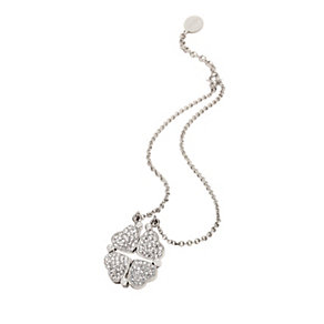 Folli Follie Heart4Heart silver-plated crystal necklace - Product number 1413694
