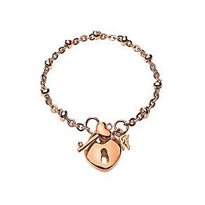 Folli Follie Keys rose gold-plated bracelet - Product number 1413724