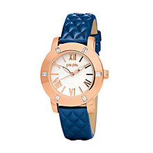 Folli Follie Donatella ladies' rose gold-plated strap watch - Product number 1413821