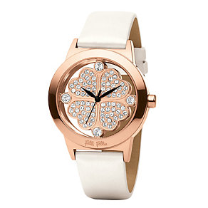 Folli Follie Heart4Heart ladies' white strap watch - Product number 1413848