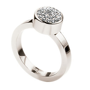 Folli Follie Bling Chic silver-plated ring size N - Product number 1413872