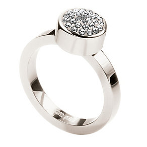 Folli Follie Bling Chic silver-plated ring size O 1/2 - Product number 1413880