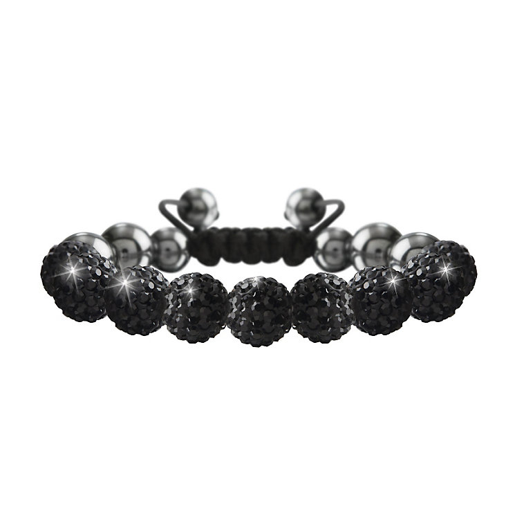 Crystalla Black Crystal Bead Bracelet - Product number 1416561
