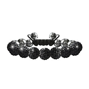 Crystalla Black Crystal Bead Bracelet - Product number 1416561