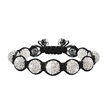 Crystalla Clear Crystal Bead Bracelet - Product number 1416634