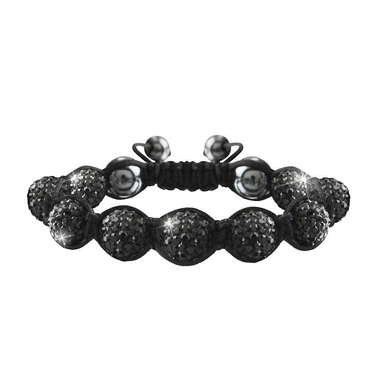 Crystalla Black Crystal Bead Bracelet - Product number 1416677