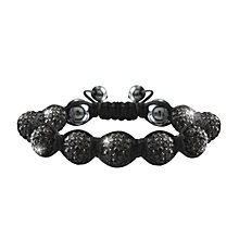Crystalla Black Crystal Bead Bracelet - Product number 1416677