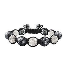 Crystalla Black & Grey Crystal Bead Bracelet - Product number 1416685