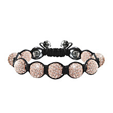 Crystalla Rose Crystal Bead Bracelet - Product number 1416693