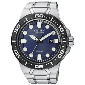 Citizen Eco-Drive men's stainless steel bracelet watch - Product number 1416723