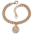 Guess Rose Gold-Plated Charm Bracelet - Product number 1417282