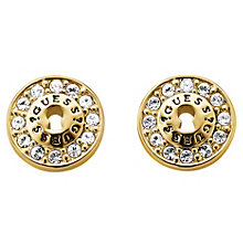 Guess All Locked Up  Gold-Plated Padlock Stud Earrings - Product number 1417339