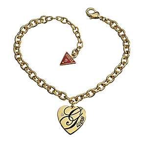 Guess All Mixed Up Gold-Plated Heart Bracelet - Product number 1417509