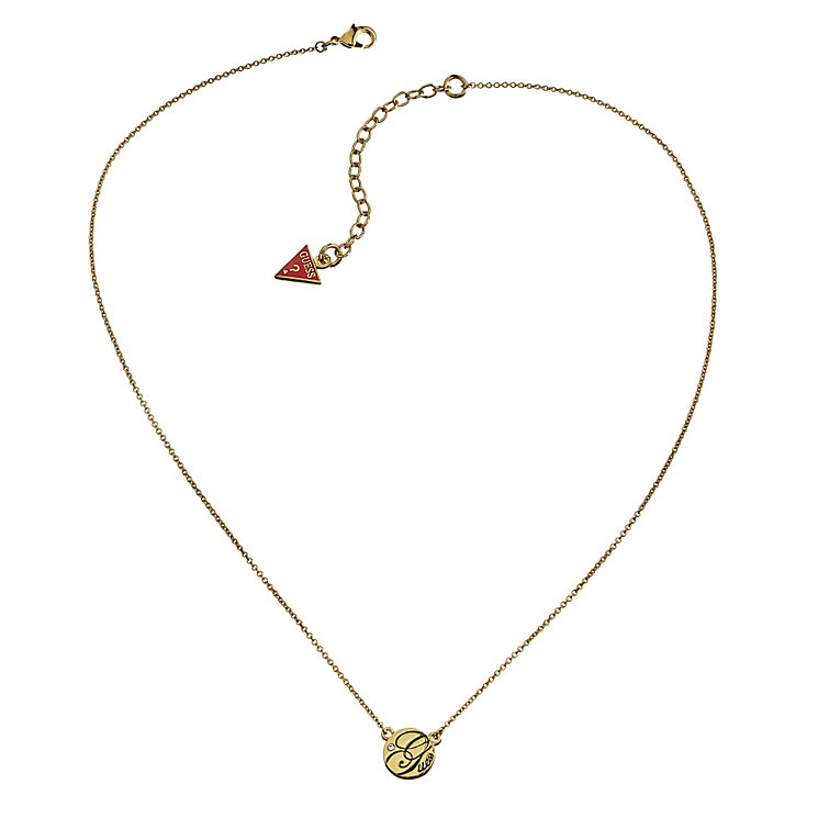 Guess Micro Dot Gold-Plated Necklace - Product number 1417657