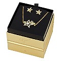 Guess Gold-Plated Star Earrings & Necklace Box Set - Product number 1417711
