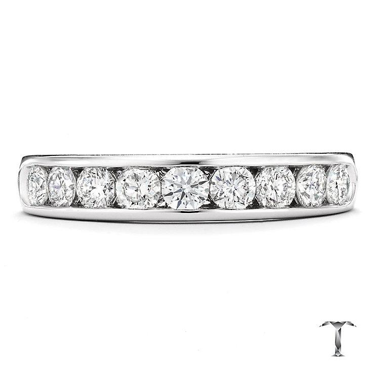 Tolkowsky platinum 0.75ct I-I1 diamond ring - Product number 1420941