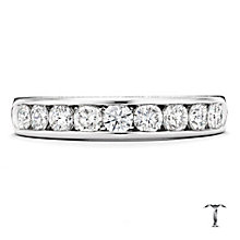Tolkowsky 18ct white gold 0.75ct HI-VS2 diamond ring - Product number 1421484