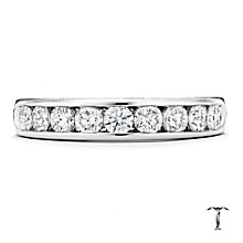 Tolkowsky platinum 0.75ct HI-VS2 diamond ring - Product number 1421743