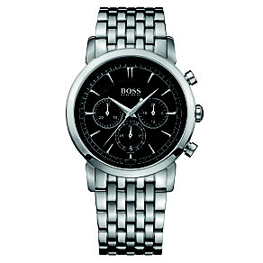 Hugo Boss men's chronograph stainless steel bracelet watch - Product number 1425498
