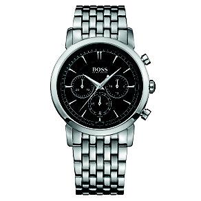 Hugo Boss men's chronograph stainless steel bracelet watch - Product number 1425498