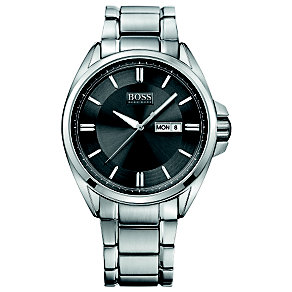 Hugo Boss men's stainless steel bracelet watch - Product number 1425536
