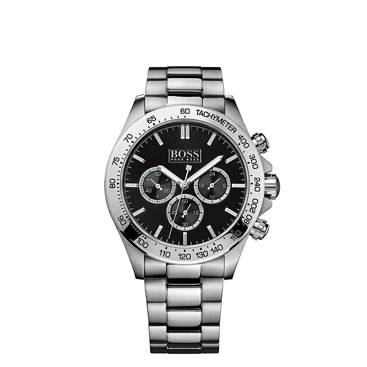 Hugo Boss men's chronograph stainless steel bracelet watch - Product number 1425757