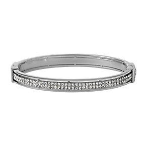 Fossil Vintage Glitz Stainless Steel Cubic Zirconia Bangle - Product number 1426508