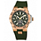 Vince Camuto Ladies' Rose Gold Tone Green Strap Watch - Product number 1427024