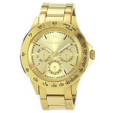 Vince Camuto Ladies' Gold Tone Bracelet Watch - Product number 1427075