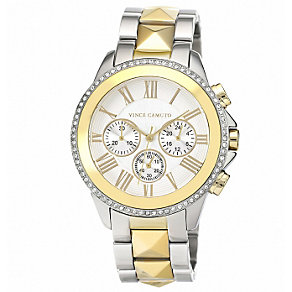 Vince Camuto Men's Stainless Steel Two Tone Bracelet Watch - Product number 1427318