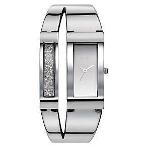 Storm Ladies' Stainless Steel Stone Set Bangle Watch - Product number 1427377