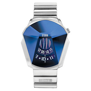 Storm Men's Blue Dial Stainless Steel Bracelet Watch - Product number 1427474