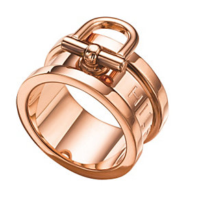 Tommy Hilfiger Ladies' Rose Gold Plated Ring - Size N 1/2 - Product number 1427792
