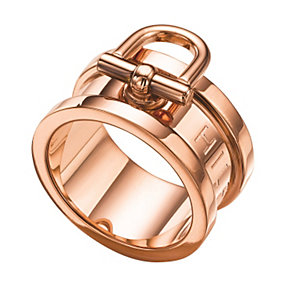 Tommy Hilfiger Ladies' Rose Gold Plated Ring - Size Q 1/2 - Product number 1427814