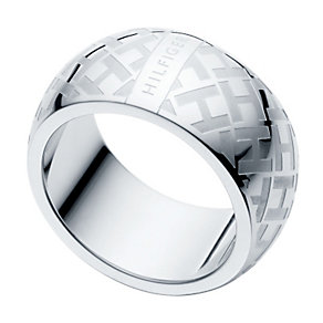 Tommy Hilfiger Ladies' Stainless Steel Ring - Size N 1/2 - Product number 1428012