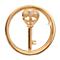 Nikki Lissoni Small Gold-Plated Key Disc - Product number 1428187