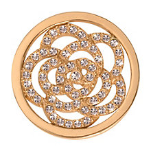 Nikki Lissoni Small Gold-Plated Sparkling Flower Disc - Product number 1428225