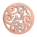 Nikki Lissoni Small Rose Gold-Plated Baroque Disc - Product number 1428241