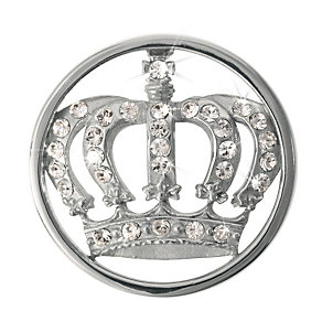 Nikki Lissoni Small Silver-Plated Royal Crown Disc - Product number 1428268