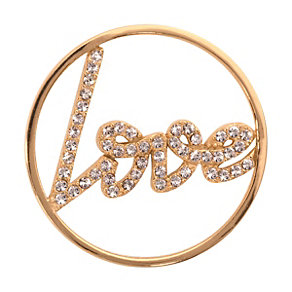 Nikki Lissoni Medium Gold-Plated Love Disc - Product number 1428276