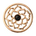 Nikki Lissoni Medium Gold-Plated Black Onyx Flower Disc - Product number 1428349