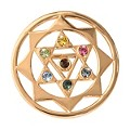 Nikki Lissoni Medium Gold-Plated The 7 Chakras Disc - Product number 1428357
