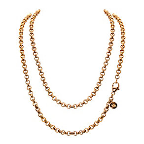 Nikki Lissoni 80cm Gold-Plated Rolo Chain - Product number 1428446
