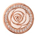 Nikki Lissoni Small Rose Gold-Plated Vintage Rose Disc - Product number 1428527